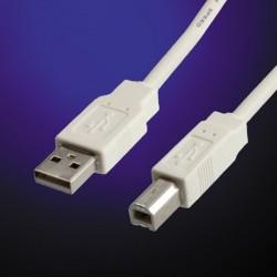 Câble USB 2.0 avec dérouleur automatique Type A