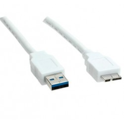 USB 3.0 Cable, A M - Micro B M 3.0m