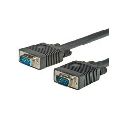 Câble écran HD15 M/M avec noyaux de ferrite + DDC