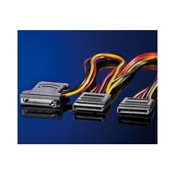 Câble adaptateur en Y, S-ATA / 3x S-ATA