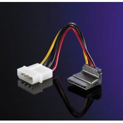 Câble adaptateur 5,25 / S-ATA, coudé