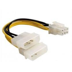 Câble en Y pour l'alim. de c. graphique PCI-E