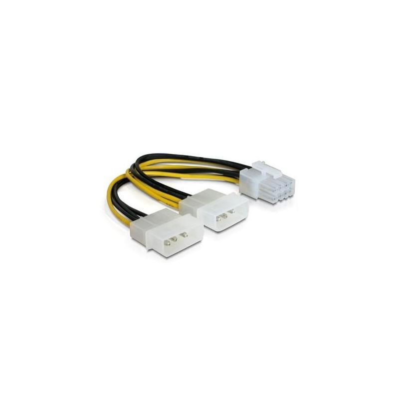 Câble d'alim int. en Y 8pin PCI Ex VGA