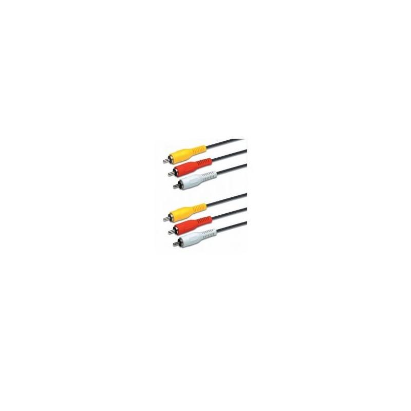 Câble 3,5mm / 2x RCA M 1,5m