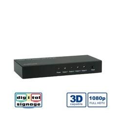 ROLINE Distributeur HDMI, double