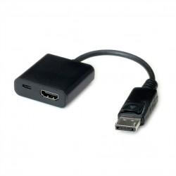 Adaptateur HDMI - DisplayPort, v1.2, HDMI F - DP M