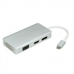 Adaptateur type C - VGA/HDMI/DVI/DP