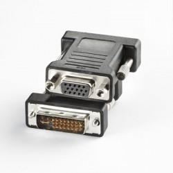 Adaptateur HD15 femelle  / DVI mâle, sous blister