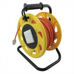 Enrouleur de câble réseau Catégorie 6 de 60m