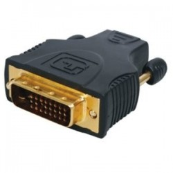 Adaptateur HDMI femelle vers DVI mâle Gold blister
