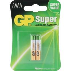 Blister 2 piles AAAA -  SUPER Alkaline GP