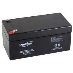ACCU ACIDE-PLOMB 12V-3.3Ah 133.5x67x67mm