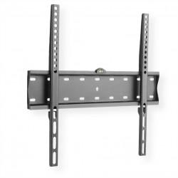 support mural TV, distance murale 27mm, capacité de charge 40kg, noir