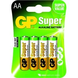 Blister 4 piles AAA - Micro SUPER Alkaline GP