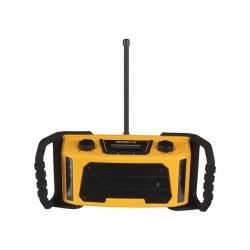 RADIO DE CHANTIER ROBUSTE - DAB/DAB+/FM - 2 x 2.5 W