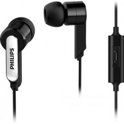 Écouteurs intra-auriculaires avec Micro - Philips SHE1405BK/10