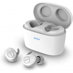Ecouteurs Wireless Intra Auriculaires Bluetooth - Philips SHB2515WT/10