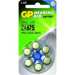 Blister 6 piles auditives ZA312 - PR41 - Brun GP