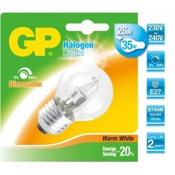 GP Ampoule Halogène Mini Globe E14 46W  60W